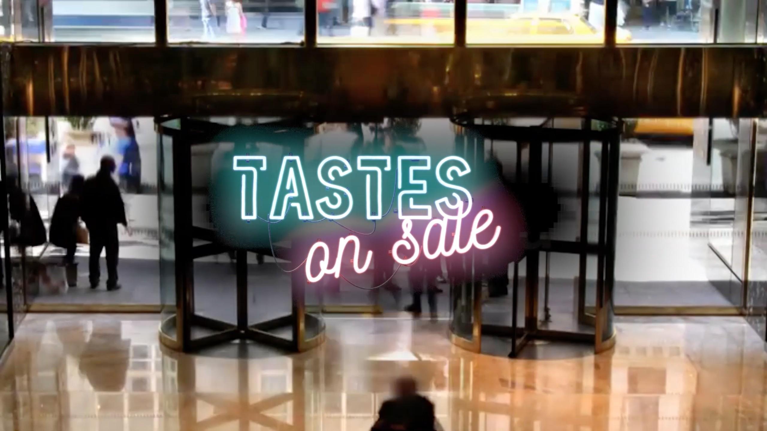 Tastes on sales