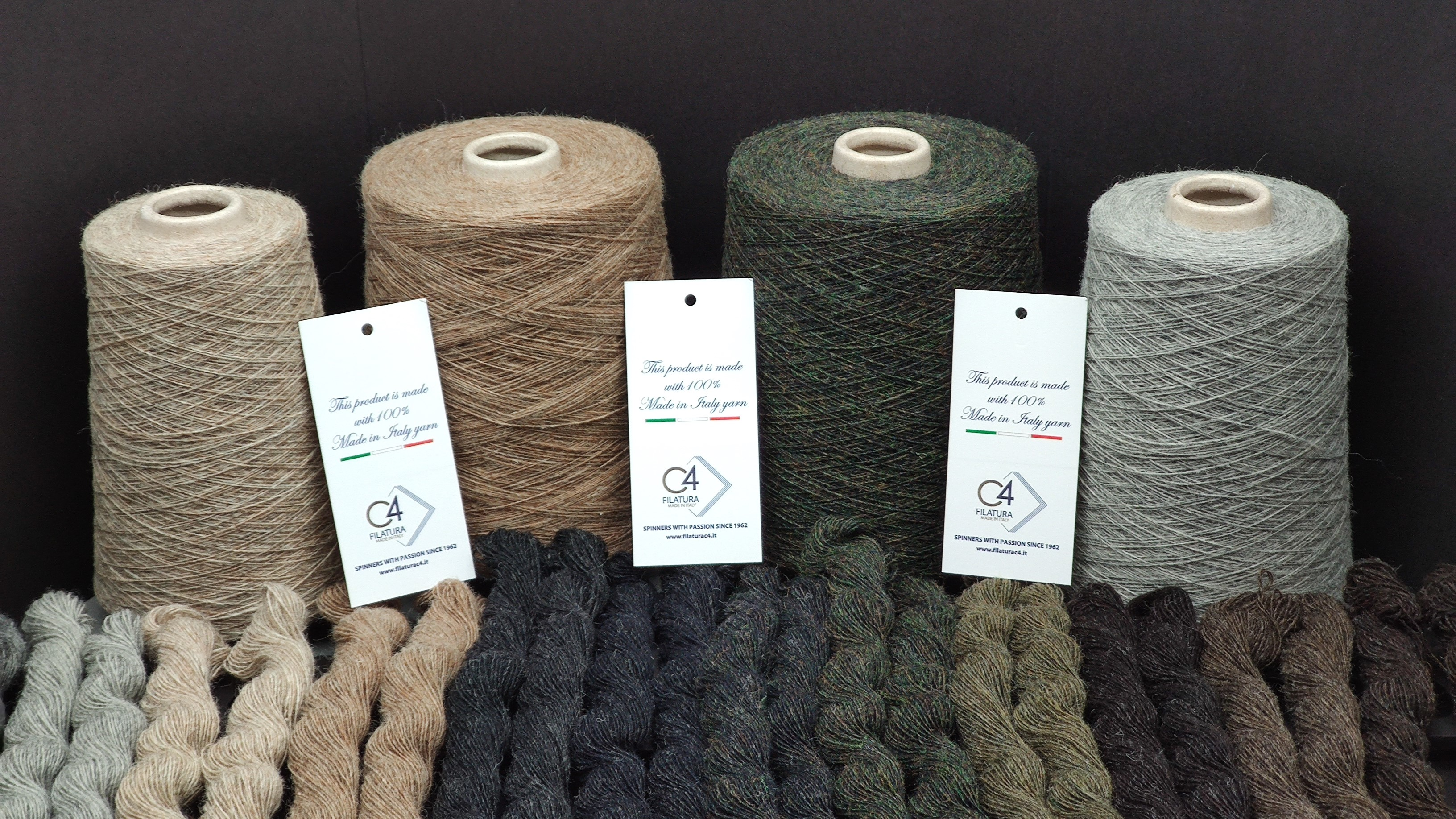 Filatura C4: New Yarns From Recycled Wool