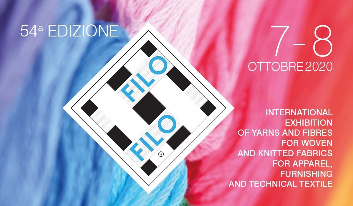 La 54a Edizione Di Filo: 7 E 8 Ottobre 2020 Al MiCo Di Milano