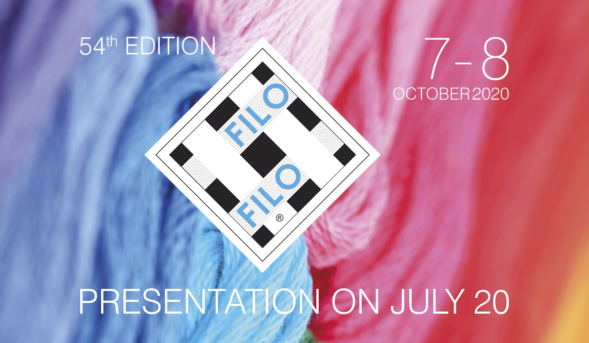 July 20: Presentation Of The 54th Edition Of Filo