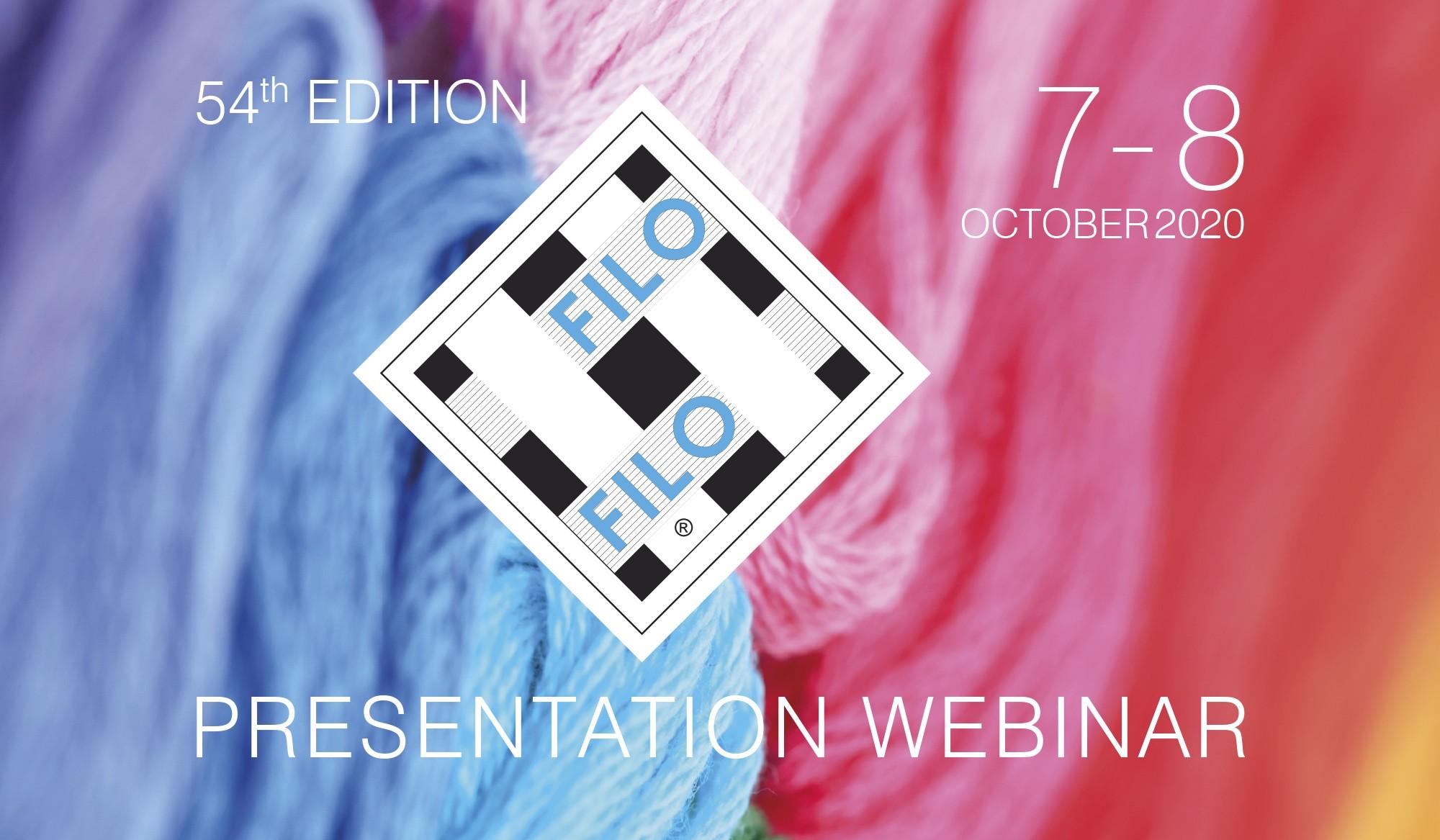 The 54th Edition Of Filo Presented Via Webinar