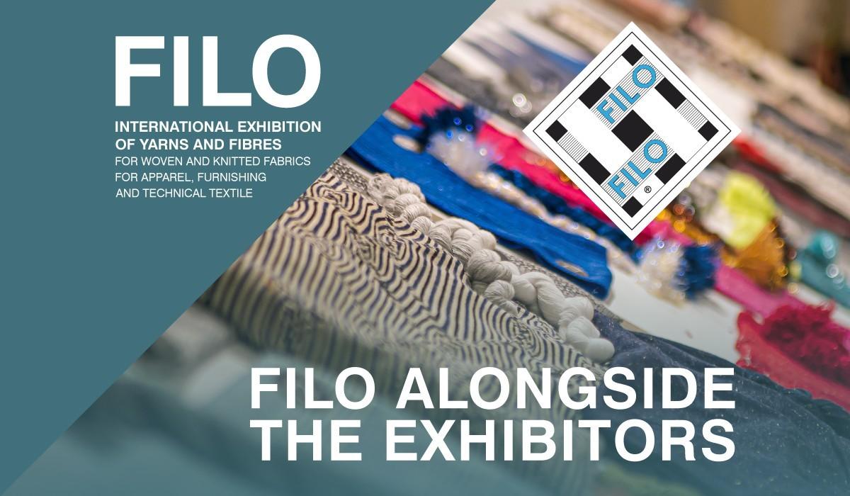 Filo Alongside The Exhibitors
