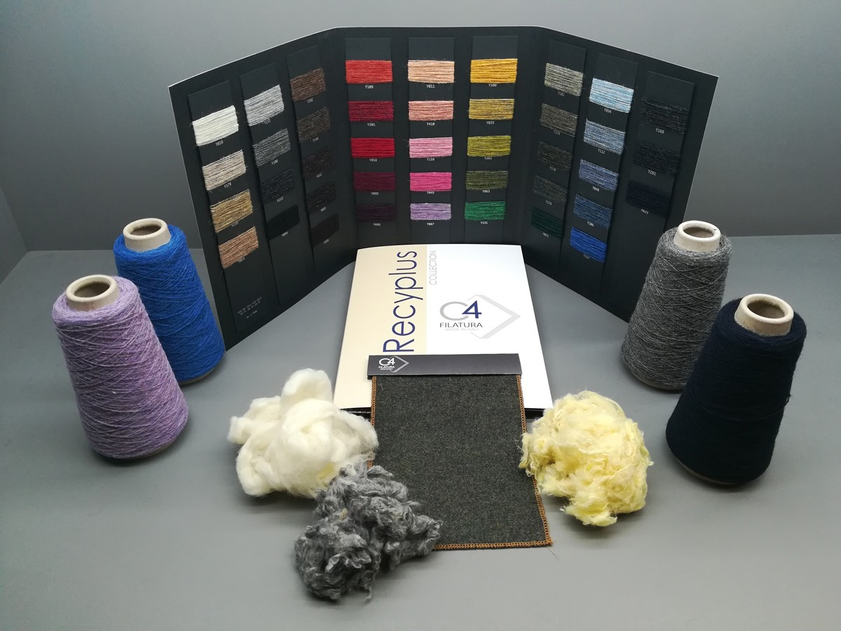 Recyplus By Filatura C4: Certified Recycled Wool In 41 Colours